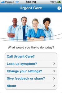 urgent 200x300 There's an app for everything, including urgent care
