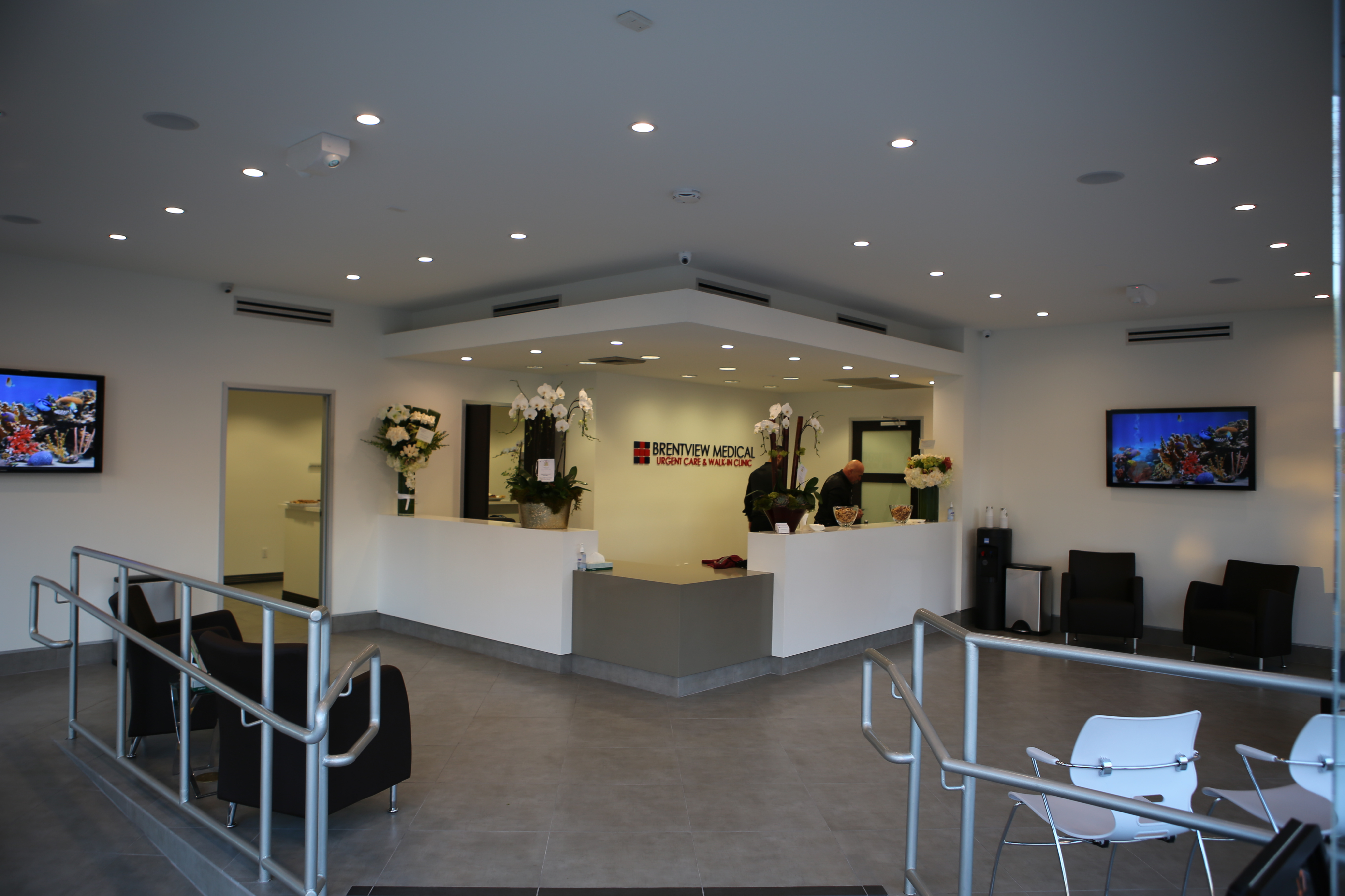 Brentview Medical's West Hollywood Clinic Lobby