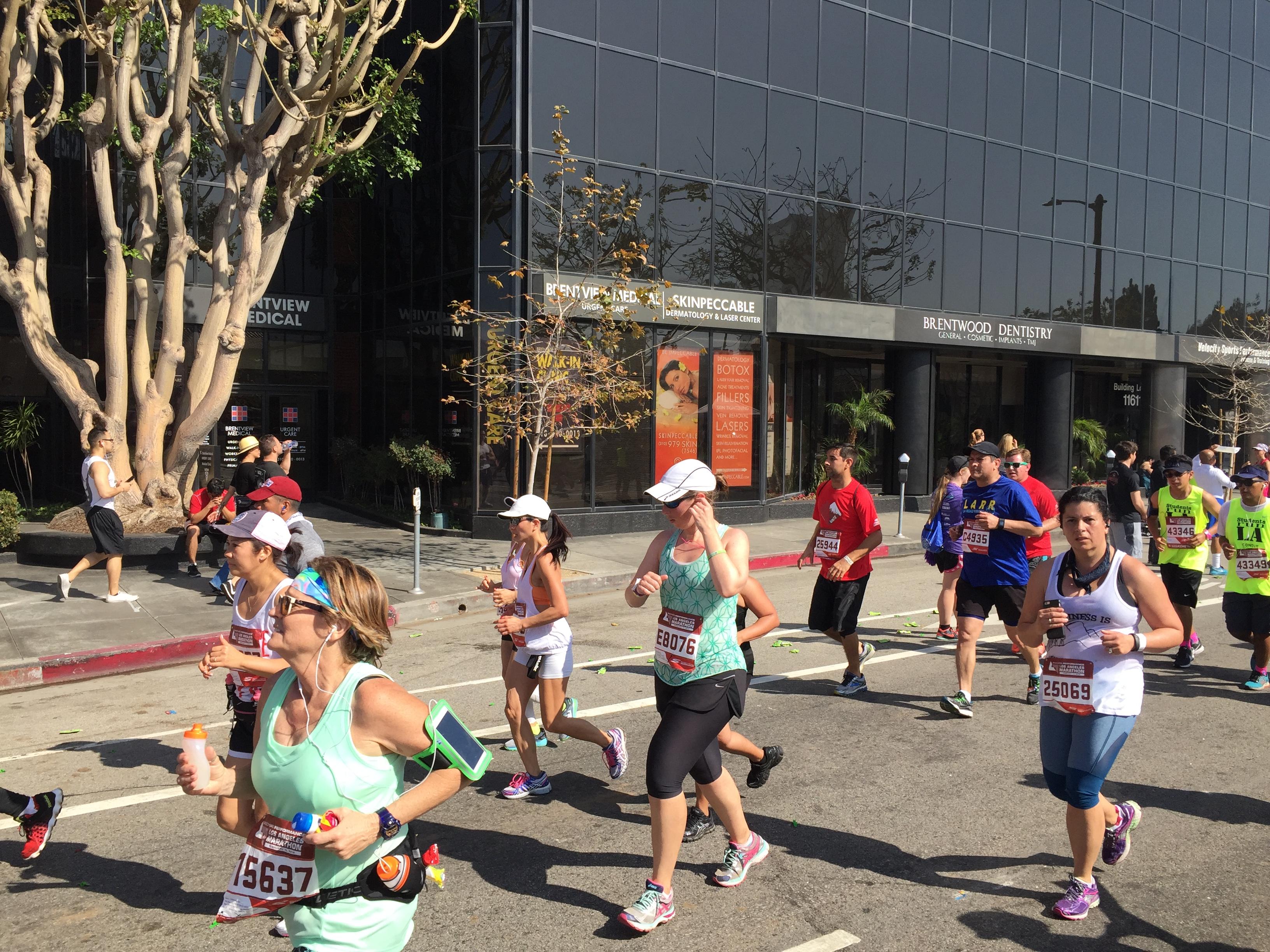 Brentview LAMarathon2016 LA Marathon comes to Brentview Medical
